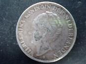 NETHERLANDS 1938 Wilhelmina Silver Coin 2 1/2 GULDEN